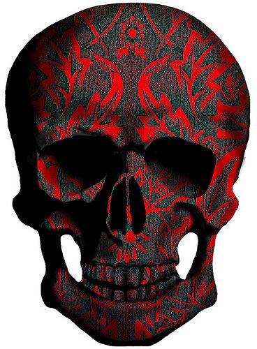 Morris Skull Red | Flickr - Photo Sharing!