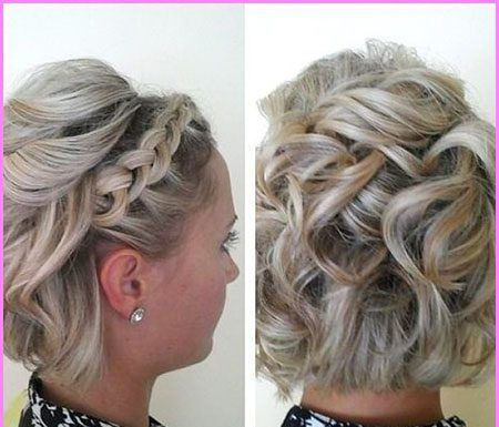 12 New Updo Hairstyles For Short Curly Hair In 2020 Hair Styles Bob Hairstyles Long Pixie Hairstyles