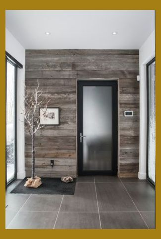 75 Modern Rustic Ideas And Designs Wall Panel Images 70s Wood Paneling Bathroom Wall Pa Wood Wall Design Pallet Walls Trendy Door