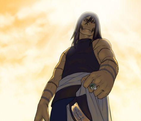 Naruto fanart: Kakuzu by BlackWiteBeast
