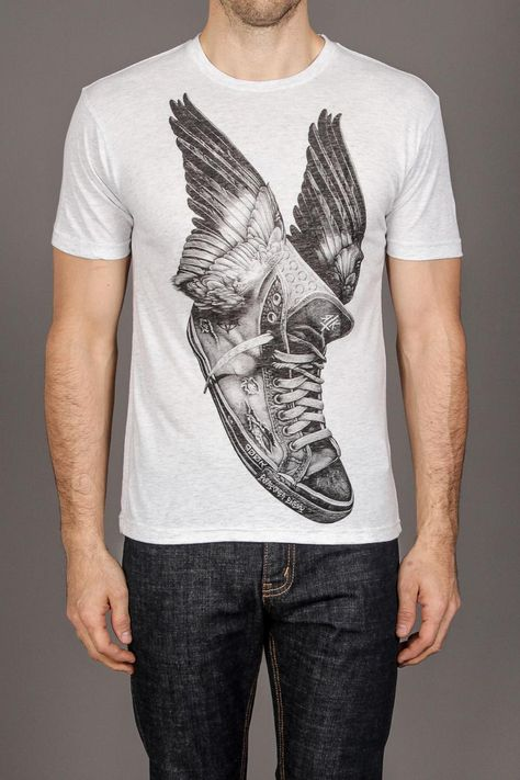 i would buy it for him and end up wearing it myself {= Take Flight Tee