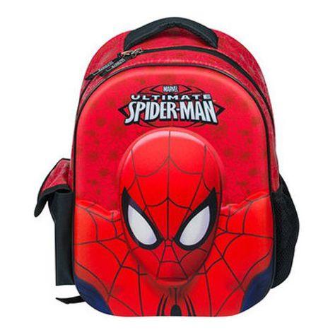 3e4c5f1976 Marvel Spiderman 3d Backpack School Rucksack Kids Junior Bag for sale  online