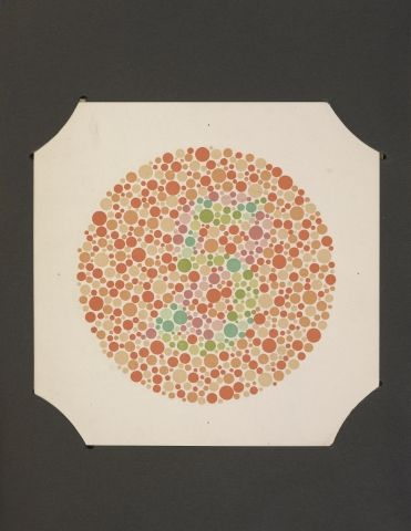 Shinobu Ishihara The Series Of Plates Designated As Tests For Colour Blindness Tokyo Kanchara Amp Co 1936 Color Coloring Pages Pattern