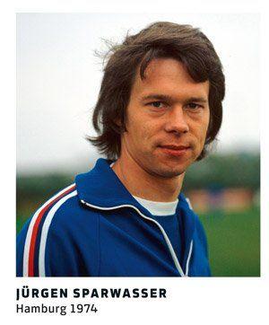 Jurgen Sparwasser 11 Freunde Fussballer Fussball Fussballplatz