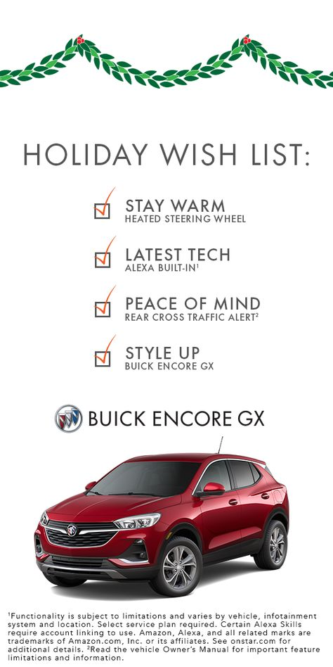 Is Buick Encore Gx On Your Holiday Wish List Infotainment System Buick Encore Infotainment