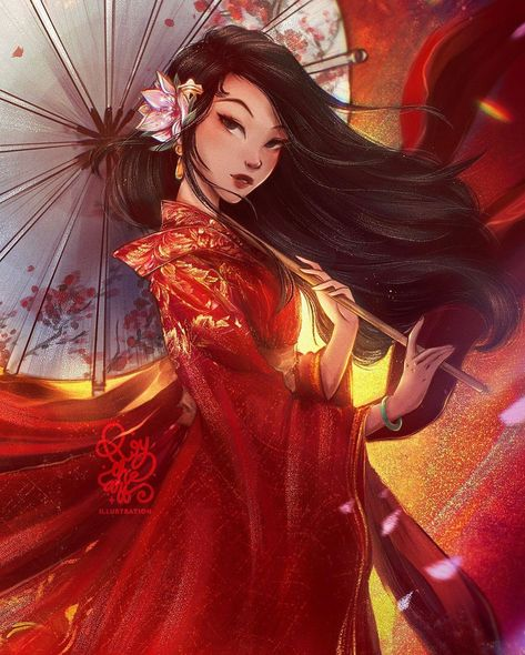 """@roytheart_ shared a photo on Instagram: """"⭐️MULAN⭐️  _DISNEY PRINCESS FANART_  Mulan is inspired by the legendary Hua Mulan and she is the eighth official Disney Princess and the…"""" • Jan 23, 2021 at 1:22pm UTC"""