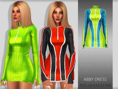 75eae3a1375 belaloallure_Abby dress - The Sims 4 Download - SimsDomination ...