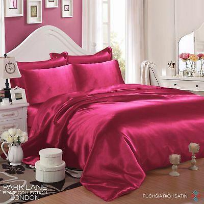 KING SIZE Silk Bedding Pillow Case