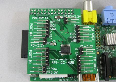 Raspberry Pi I2C Multiplexer - Multiple Kickstarter project