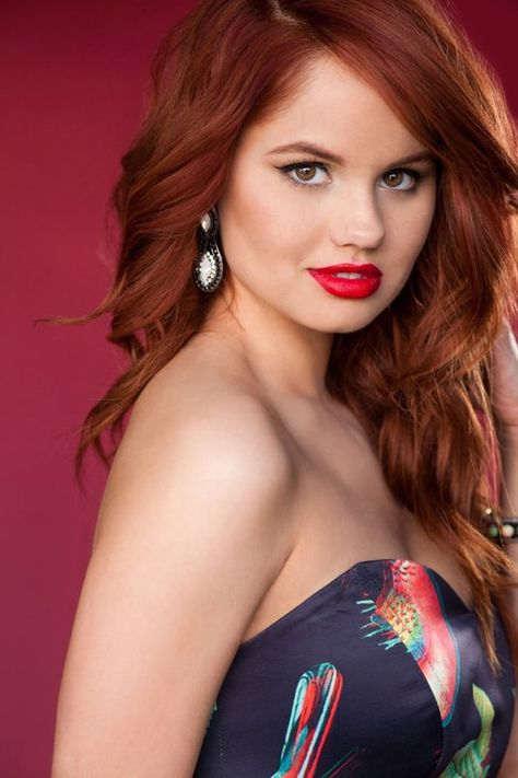 Debby Ryan- she has the prettiest shade of red hair!