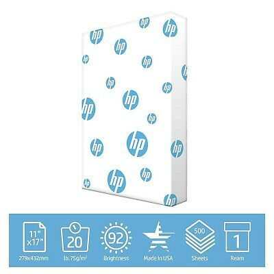 Hp Printer Paper Office 20lb 11x17 Ledger Size 1 Ream 500 Sheets Made In Ebay In 2020 Printer Paper Copy Paper Hp Printer
