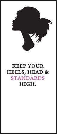 Heels, head, and standards
