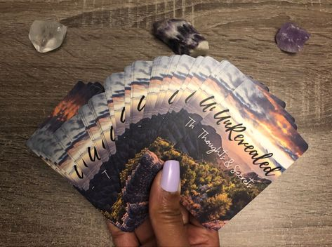 Self made oracle deck to find out the unrevealed thoughts and secrets of your love interest! #tarot #tarotspread #tarotreading #tarotcards #oracledeck #oraclecard #oraclecarddeck