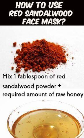 Benefits of Red Sandalwood for Skin - (9 DIY Face Pack