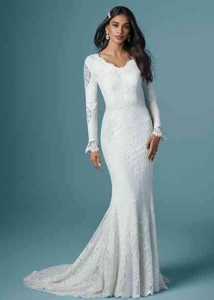 Wedding Dress Out Of Maggie Sottero Aberdeen In 2020 Wedding Dresses Steampunk Wedding Dress Chiffon Dress Long