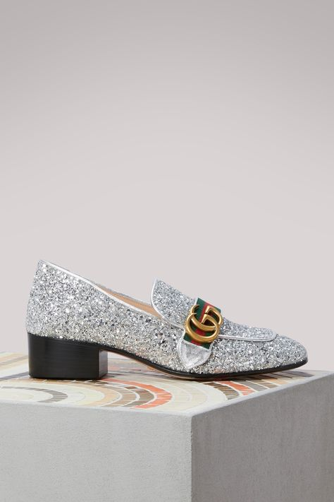 3eec86d721c GUCCI Peyton mid-heel loafers.  gucci  shoes