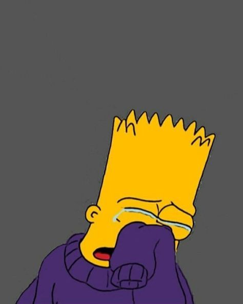 Pin On Bart Is Depressed