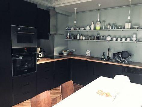 49+ Ikea cuisine bois noir ideas