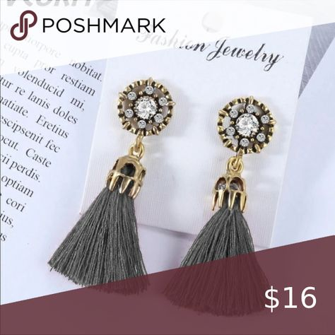 NWT Small Bohemian Tassel Earrings 100% New product! Metal Type : Zinc Alloy and Cotton Offers Welcome! Jewelry Earrings