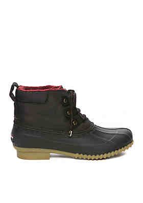 on feet shots of popular stores detailed images Tommy Hilfiger Romolan Duck Boot | Boots, Duck boots outfit, Duck ...