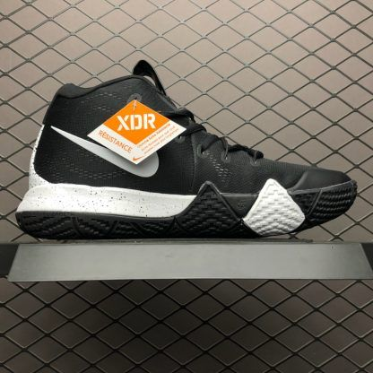 "finest selection f2055 3aaf6 Nike Kyrie 4 1990s With the ""Decades Pack"" Black White ..."
