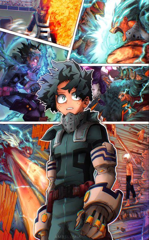 Anime: My Hero Academia #anime #manga #art #artwork #fanart #animeboy #animeart