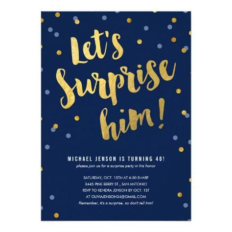 Big 5-0 A Customizable 50th Birthday by ImpressionsPaperie - fresh birthday invitation jokes