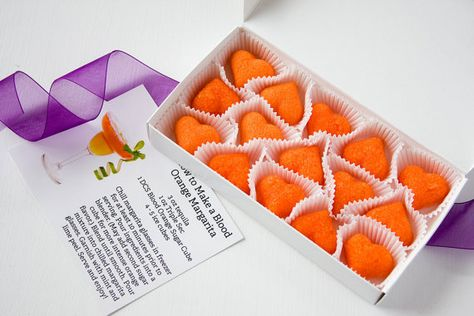 Cocktail Sugar Cubes (by Dell Cove Spices via EmmalineBride.com) #favors #handmade #wedding #foodie