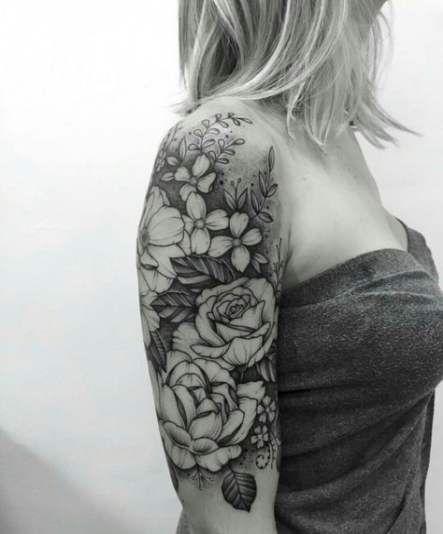 Tattoo Sleeve Filler Leaves 29 Ideas Tattoo Sleeve Filler Tattoos Half Sleeve Tattoo