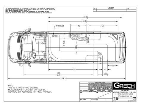 Image Result For Mercedes Sprinter Van 170 Dimensions With Images