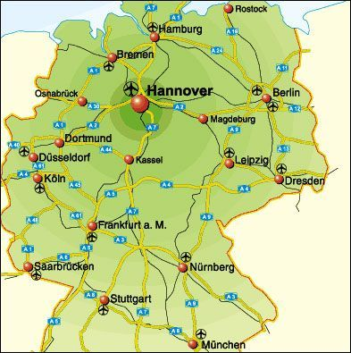 Hannover Karte Deutschland Neupic Karte Deutschland Hannover