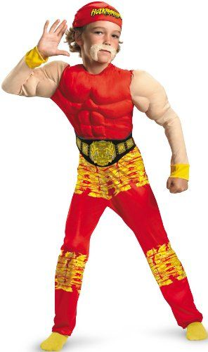 This Kane WWE Wrestling Halloween costume is made from polyester ...
