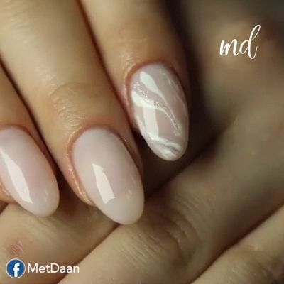 --Video Pin-- Cute marble nail design By: rinazaitistudio