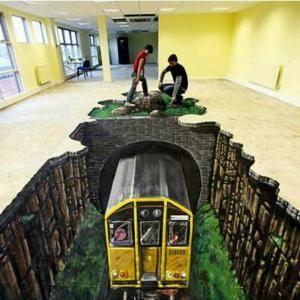 Sidewalk chalk art!!! by bitingthesun