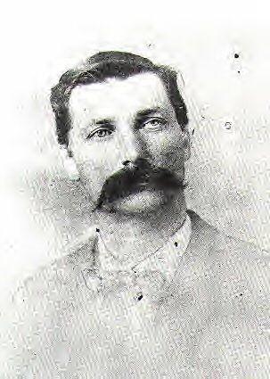 "William ""Bill"" Doolin 1858-1896, leader of the Doolin-Dalton gang based in Oklahoma.  Killed by federal marshals led by Heck Thomas."