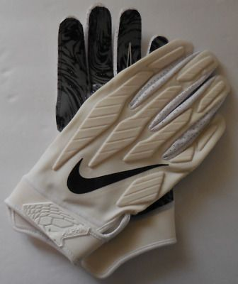 Ad Ebay Link Nike Men S Superbad 5 0 Alpha Football Glove White Black Size 3xl Football Gloves Nike Men Superbad