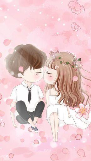 We Heart It Cute Couple Wallpaper Cute Couple Cartoon Anime Wallpaper