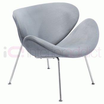 Arne Jacobsen Egg Chair Tweedehands.Pierre Paulin Orange Slice Chair Interioraddict Com