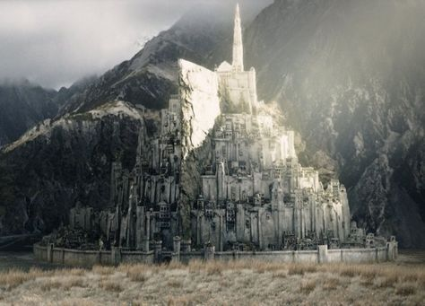 Minas Tirith. . . :) Middle Earth is a home away from home. :)