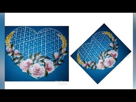 How To Make Beautiful Greeting Card Using Acrylics Friendship