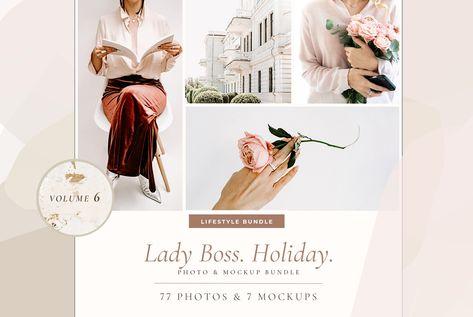 LADY BOSS. HOLIDAY. 77+