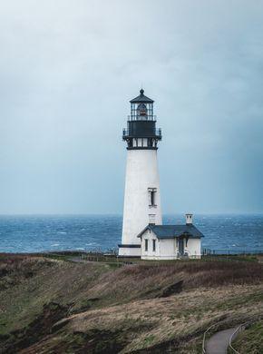 Lighthouse Newport Beach Or