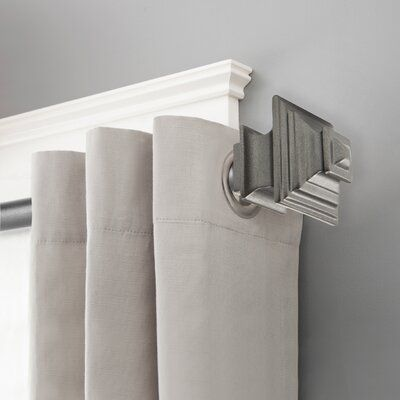 Darby Home Co Boligee Single Curtain Rod Hardware Set Colour