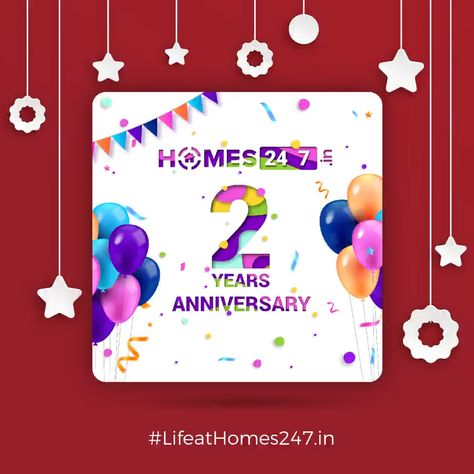2nd Anniversary Celebration of Homes247.in
