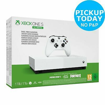 Details About Xbox One S 1tb All Digital Edition V2 Console Game Bundle Xbox One S 1tb Xbox One S Xbox One Console