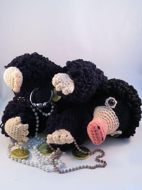 Ravelry: Niffler Amigurumi pattern by Hooked by Kati