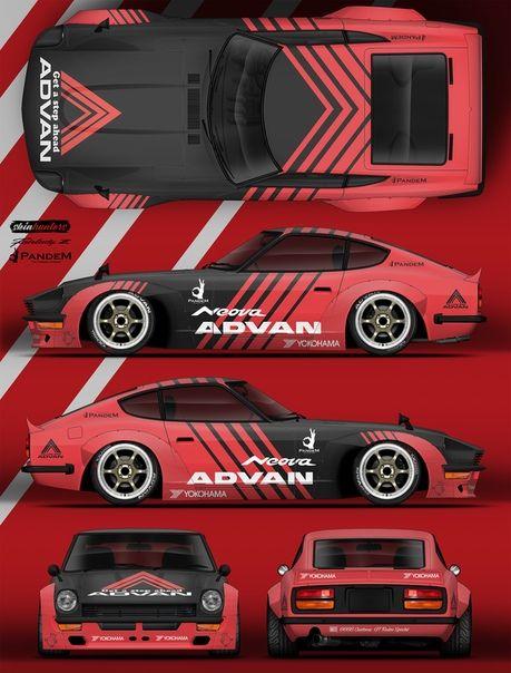 Pin by Ma Su on Car livery | Racing car design, Car wrap