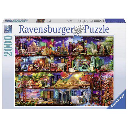 2000-Piece Ravensburger World of Books Puzzle