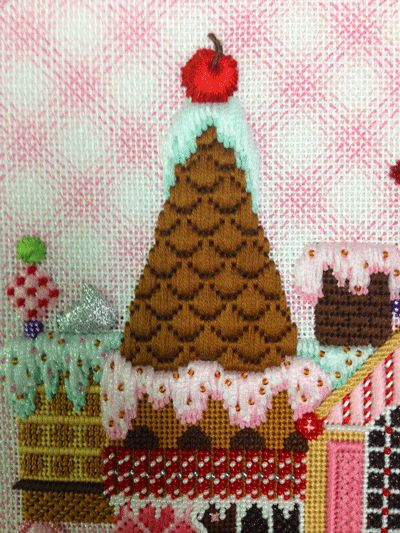 Gingerbread House stitch guide by Susan Portra