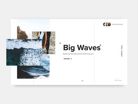 Surf Article Interaction